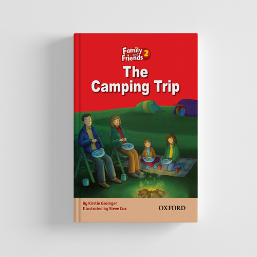 کتاب Family and Friends Readers 2 The Camping trip