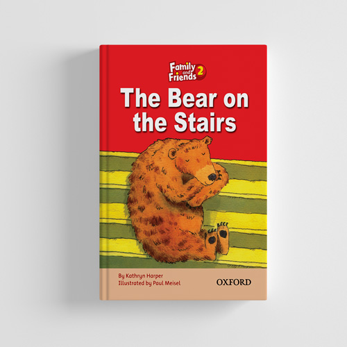 کتاب Family and Friends Readers 2 The Bear on the stairs