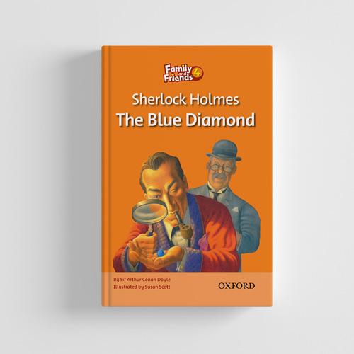 کتاب Family and Friends Readers 4 Sherlock Holmes The Blue Diamond