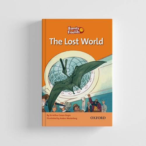 کتاب Family and Friends Readers 4 The Lost World