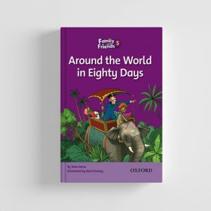 کتاب Family and Friends Readers 5 Around the world in eighty days