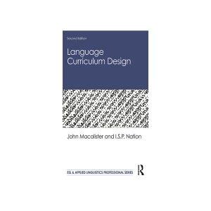 کتاب Language Curriculum Design 2nd Edition