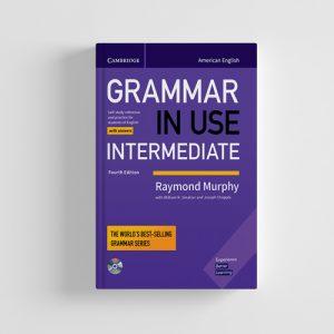 کتاب Grammar in use intermediate 4th edition