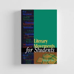 کتاب literary movements for students