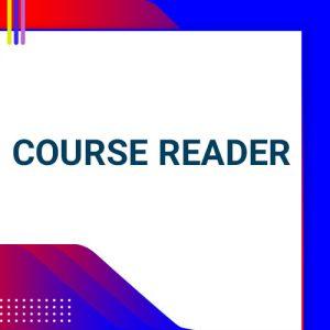Course Reader