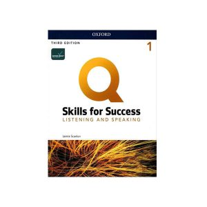 کتاب Q Skills for Success Listening and Speaking 1 3rd Edition