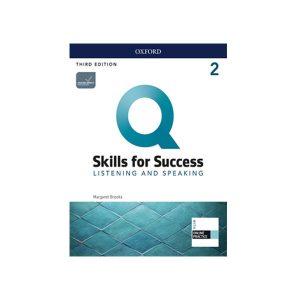 کتاب Q Skills for Success Listening and Speaking 2 3rd Edition