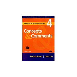 کتاب Reading & Vocabulary Development4 Concepts & Comments 3rd Edition