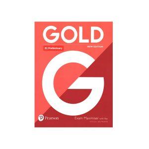 کتاب Gold B1+ Pre-First Exam Maximiser New Edition