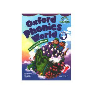 کتاب Oxford Phonics World 4 Consonant Blends