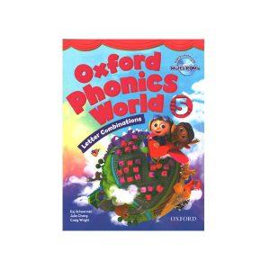 کتاب Oxford Phonics World 5 Letter Combinations