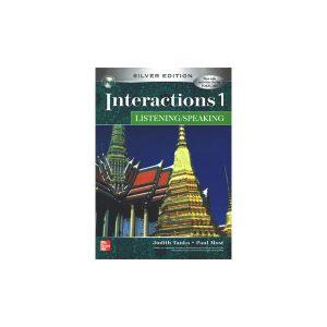 کتاب Interactions Listening and Speaking 1 Silver Edition