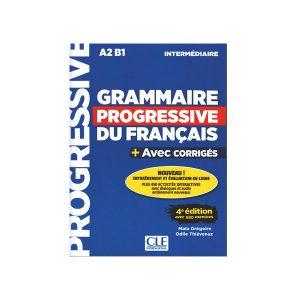 کتاب Grammaire progressive du français 4e edition A2 B1